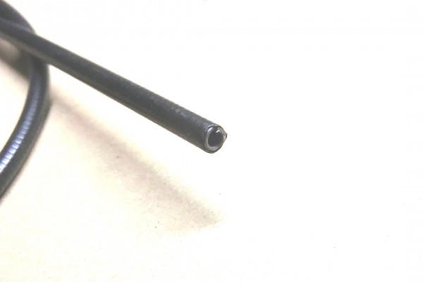 Bowdenzughülle, schwarz, innen 2,5mm , Meterpreis 0,80 EUR